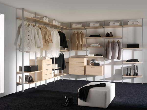 Dise o de vestidores modernos grupo maxxum Diseno de interiores closets modernos